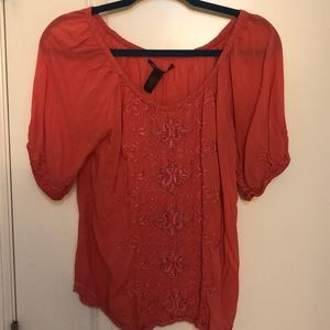 Lucky Brand Pink Size Small Blouse